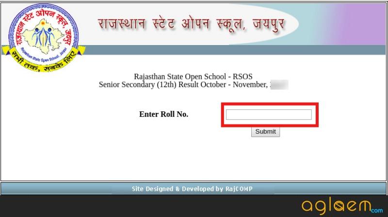 Rajasthan Open School Result
