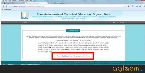 Gujarat PGCET 2019 online application