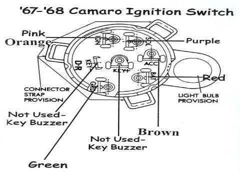 1968 camaro ignition switch wiring diagram  trailer brake