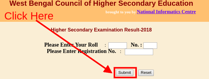 WBCHSE HS Supplementary Result 2018