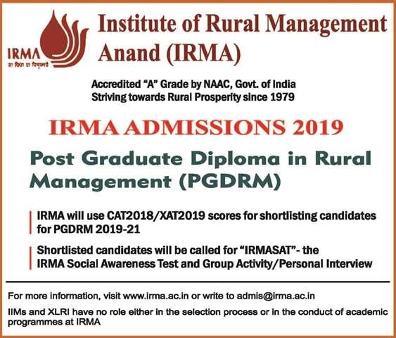IRMA Application Form 2019