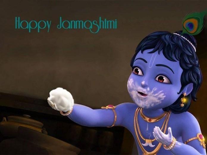 happy janmashtami images free download