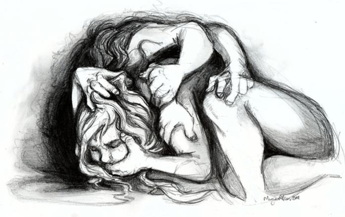 Anxiety by Caroro (deviantart)