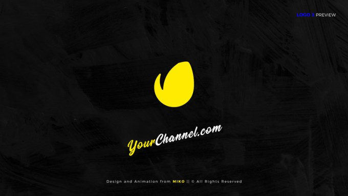 Scribble Logo Openers - 5