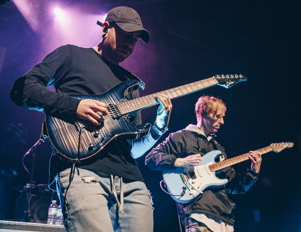 Canadian progressive metal band Intervals performing at the Rickshaw Theatre in Vancouver, BC on November 10th, 2018