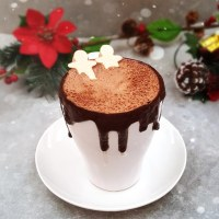 Hot Cacao Elixir with Gingerbread Marshmallows