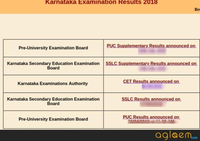 Karnataka Board Result 2019