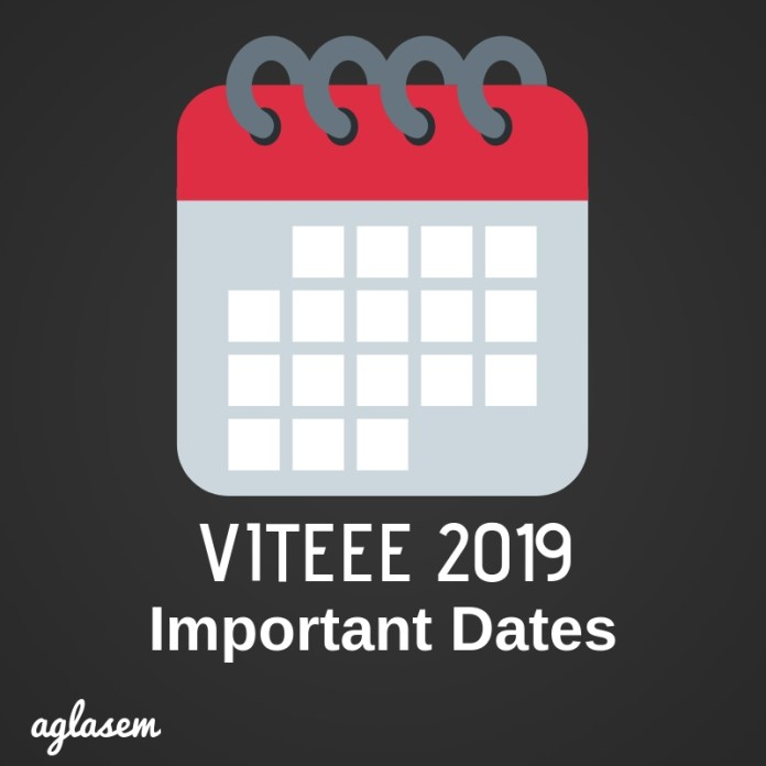 VITEEE 2019 Exam Date