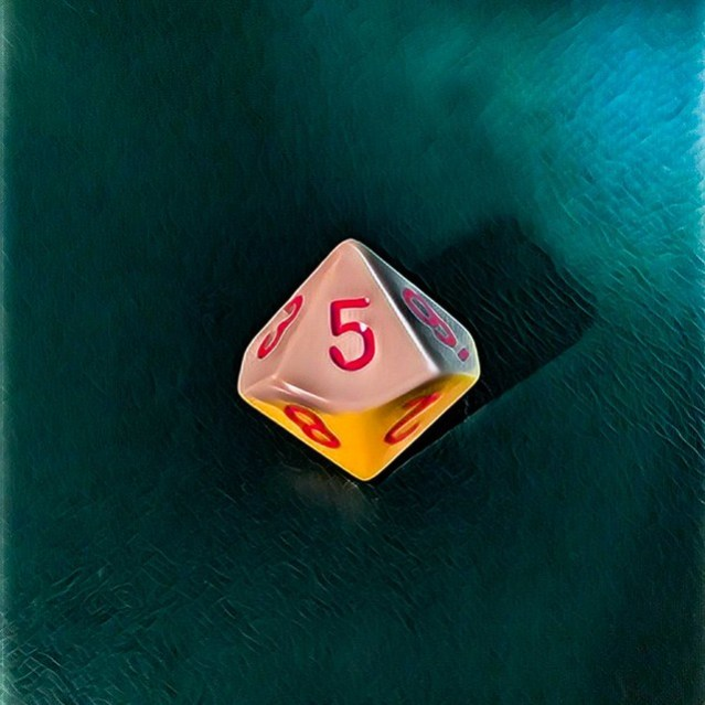 A picture of a ten-sided die