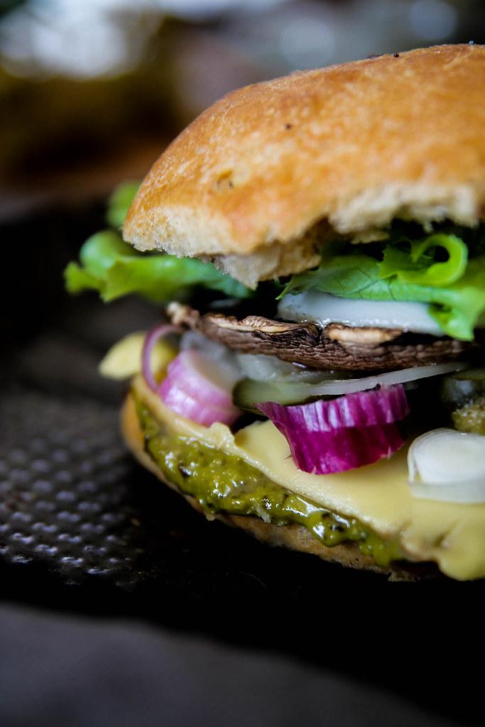 Portobello burger maison