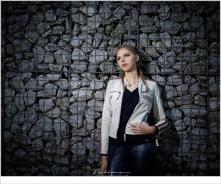 Fotoshoot met Michelle en een Magnum Reflector
