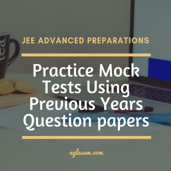 JEE Advanced Previous Year Question Paper And Solution