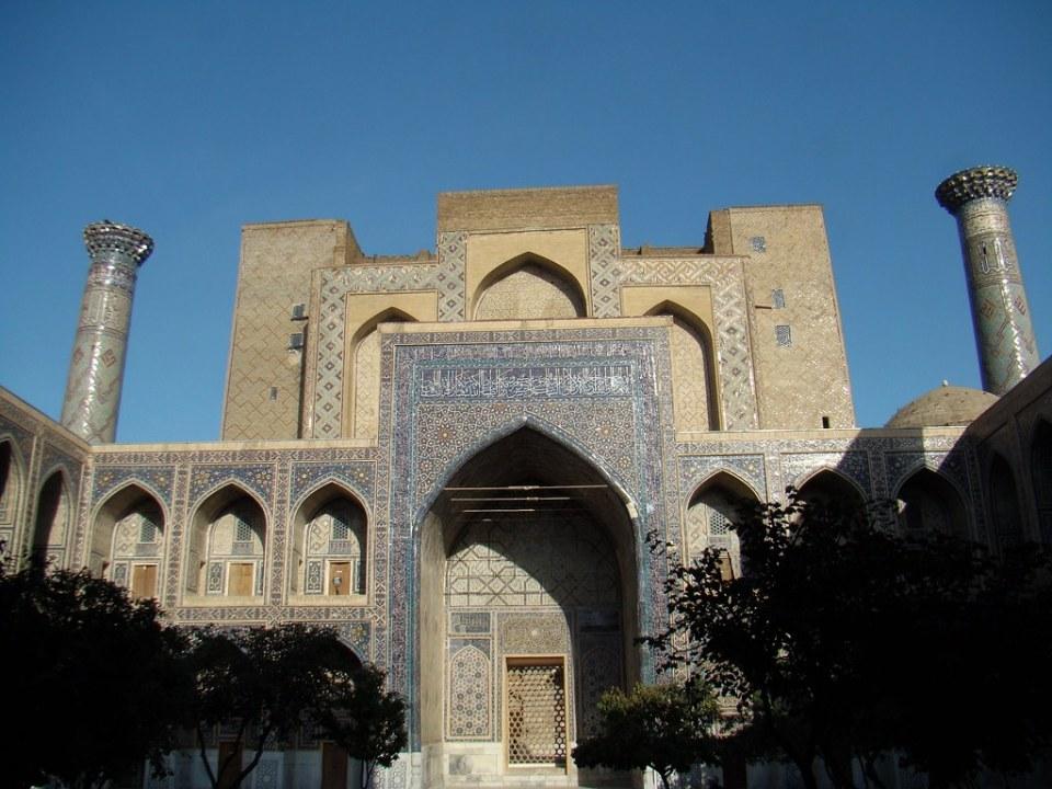 Samarcanda Madrasa Ulugh Beg Uzbekistan 21