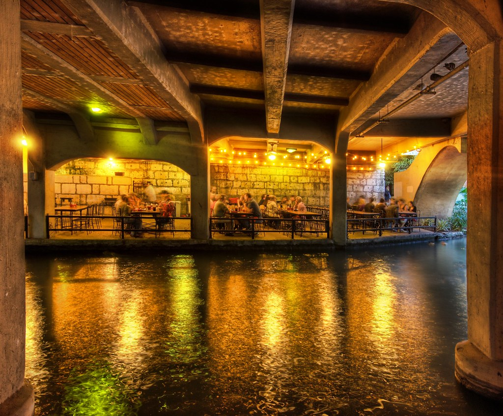 A Restaurant Under The Bridge Here Is Another Cool Area