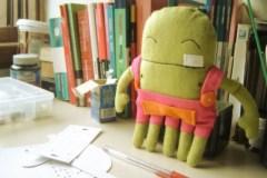 Exemplo de boneco intermediário
