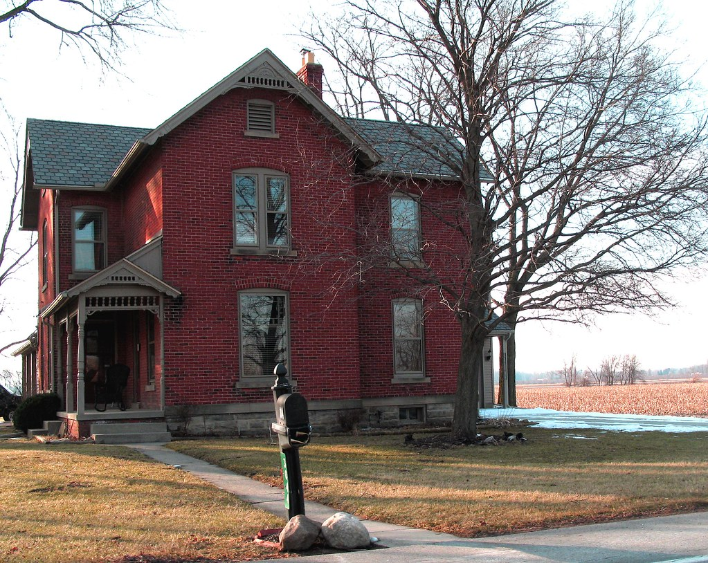 Isaac Preston Farm House On Albon Road Springfield Townsh