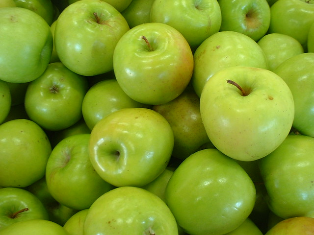 "Some ""Granny Smith"" apples"