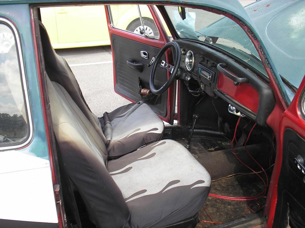 1969 Volkswagen Beetle Baja Bug Interior Owner