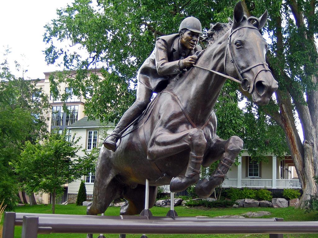 big ben famous horse statue in perth ontario | big ben is a … | flickr