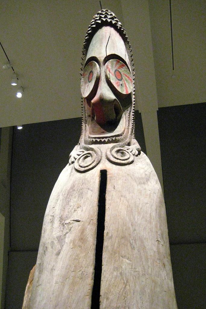 NYC Metropolitan Museum Of Art Slit Gong Slit Gong