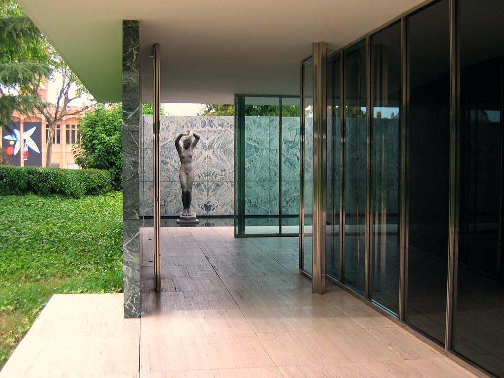 Barcelona Pavilion Padiglione Di Barcellona Barcellona