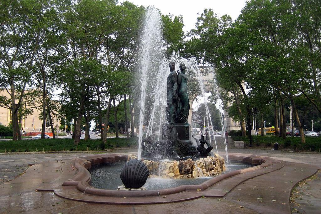 Brooklyn Grand Army Plaza Bailey Fountain Wisdom And