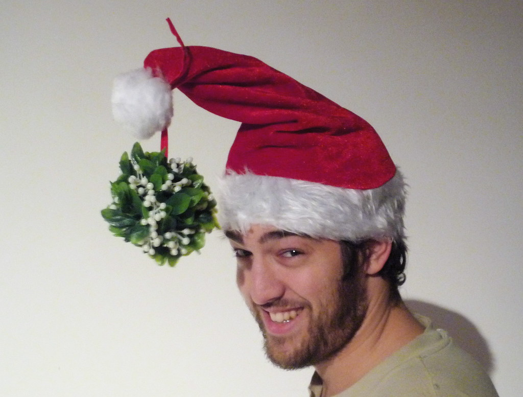 Mistletoe Hat V20 I Used To Wear One Of These Around