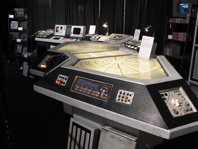 Command Plotting Table Battlestar Galactica CIC Chuck