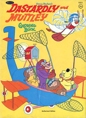 Dastardly And Muttley Coloring Book Its Coloring Book