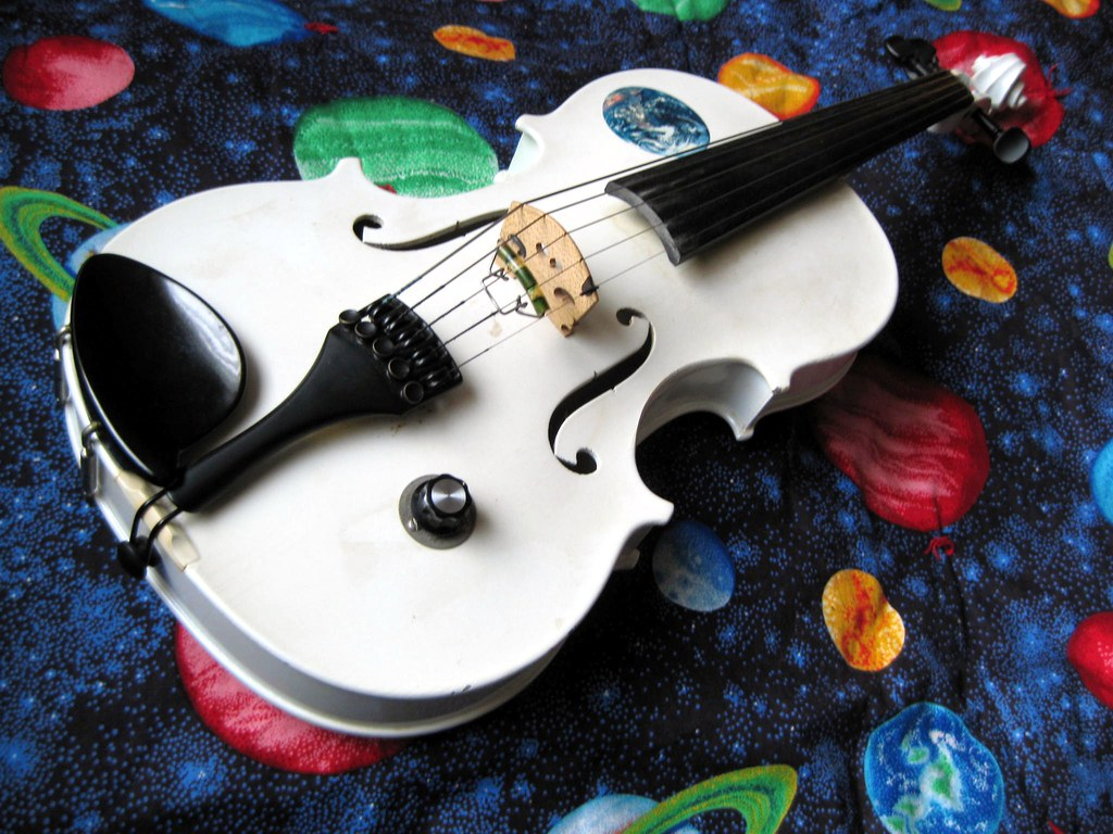 Vintage 5 String Electric Violin I Play This 1980 Barcus