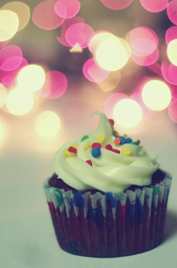 Happy Birthday Mom Red Velvet Cupcakes I Made For My Mom Flickr