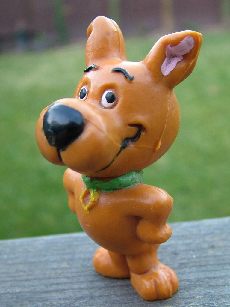 Scrappy Doo Figure 1987 Scrappy Doo Pvc Figure I Bought