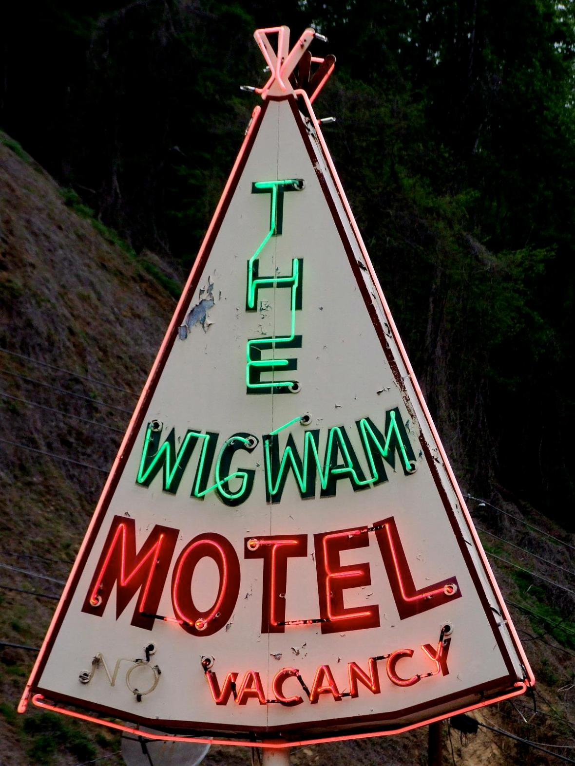 The Wigwam Motel - 1431 Tsali Boulevard, Cherokee, North Carolina U.S.A. - May 3, 2008