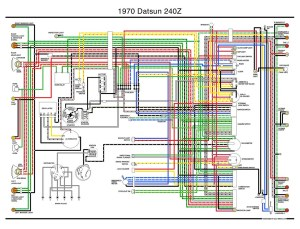 1970 Datsun 240z Wiring Diagram | i transcribed the only