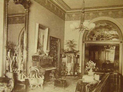 Mrs Harrisons Reception Room White House 1880s