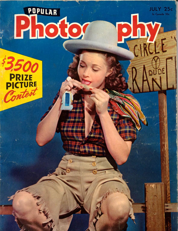 Popular Photography - July 1942