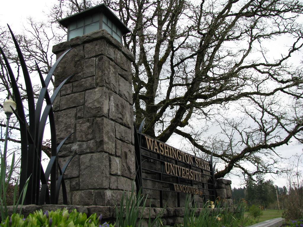 Wsu Vancouver Campus Map