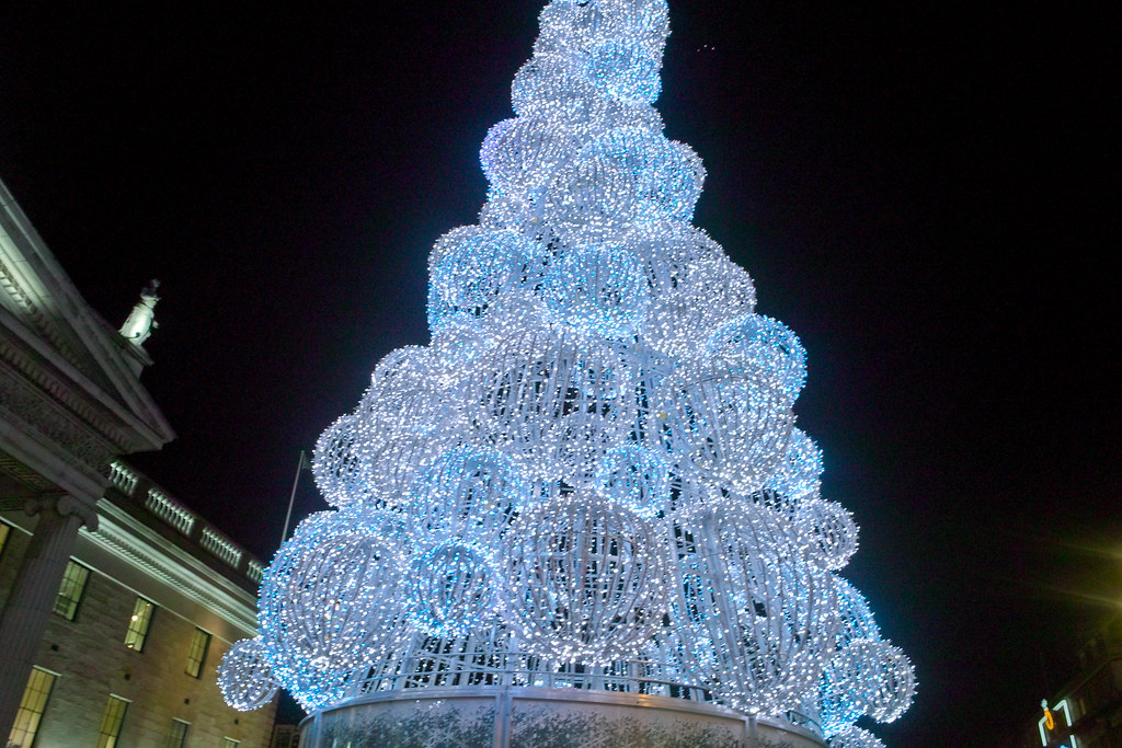 A French Designed Christmas Tree Is Lighting Up Dublins O