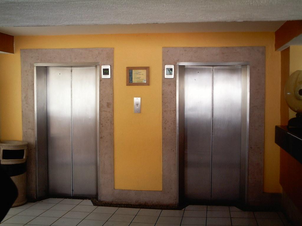 Elevator Two Elevators In A Hotel At Puerto Vallarta