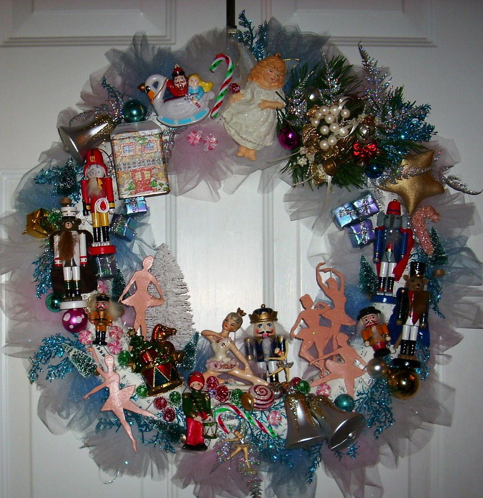 Nutcracker Wreath I Worked In This All Afternoon I