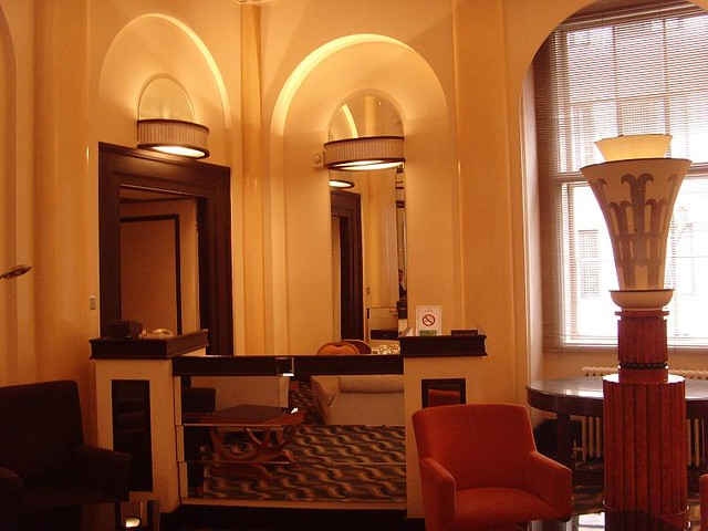 The Lansdowne Club 1930s London Art Deco Interior Flickr