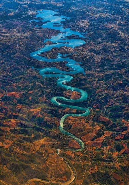 The Blue #Dragon River in #Portugal- Most surreal places to visit