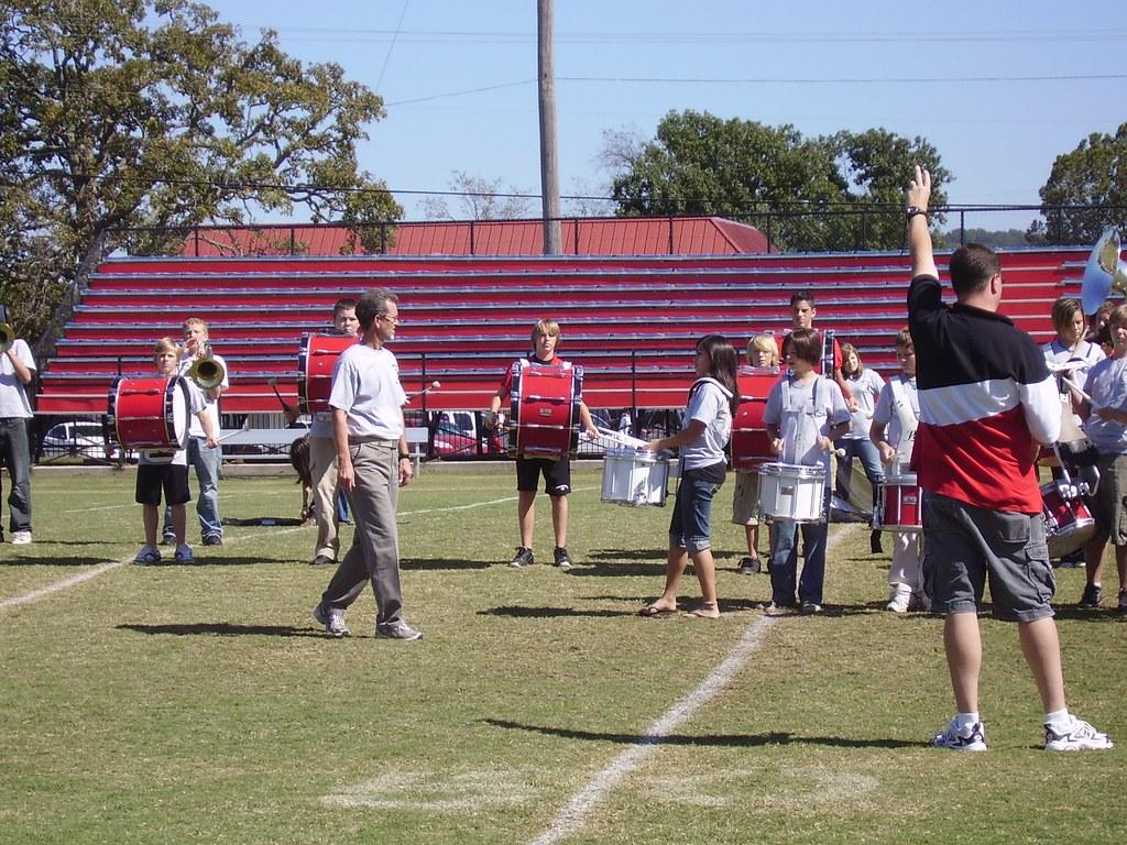 Junior High Band Practice