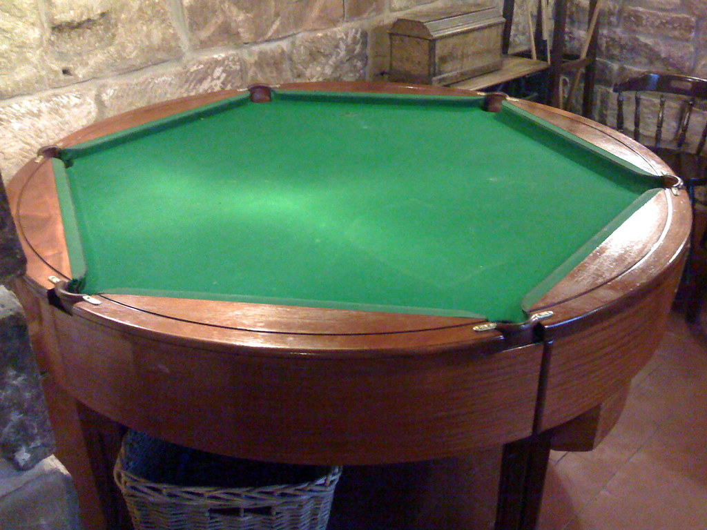 Hexagonal Rotating Pool Table Neil Crosby Flickr