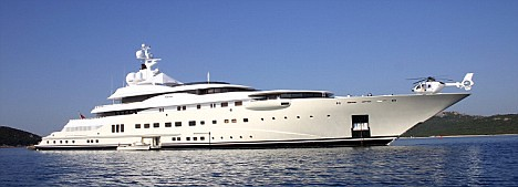 SUPER YACHTS OF THE RICH AND FAMOUS 2005 Zoli Erdos