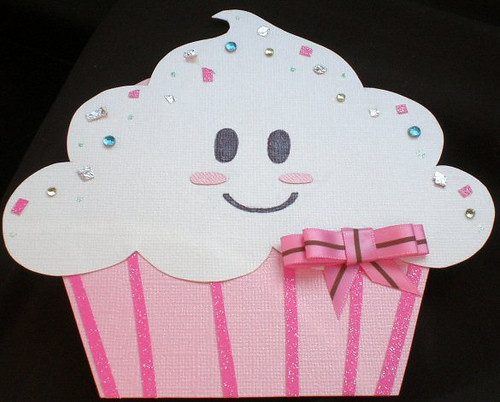 Cupcake Card I Drew And Paper Pieced This Thinking Of