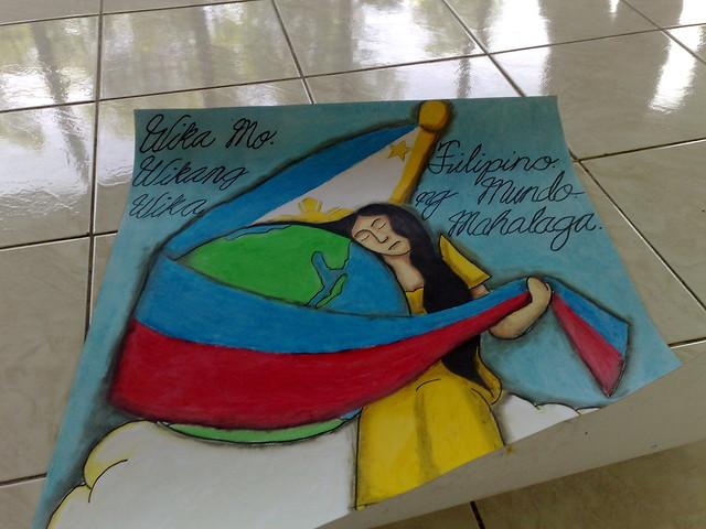 Making Poster Ng Buwan Wika