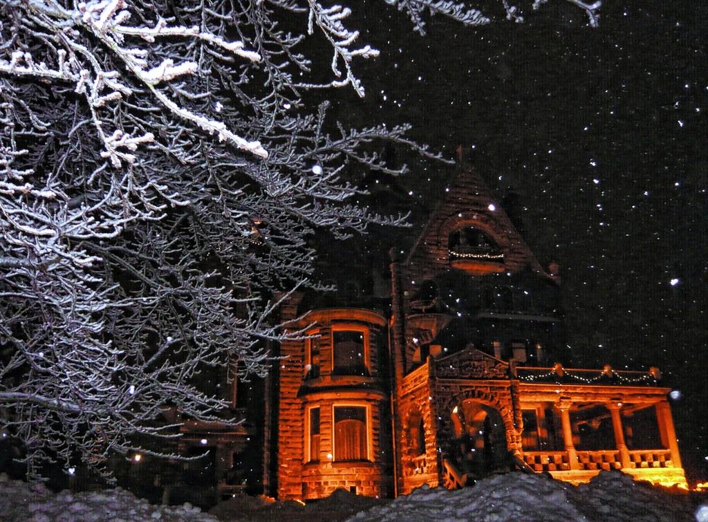 Craigdarroch Castle Christmas Card 4000 Views