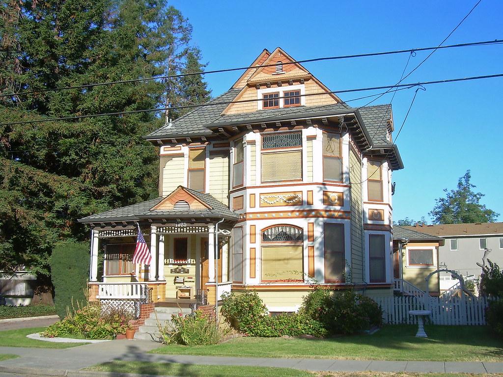 Victorian House San Jose California David Sawyer