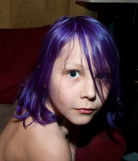 Perry Purple Every Summer I Let My Kids Dye Their Hair